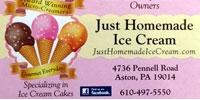Just Homemade Ice Cream