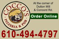 Cocco's Pizzeria & Pub Aston