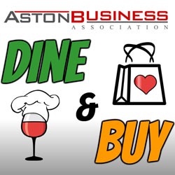 Dine & Buy in Aston