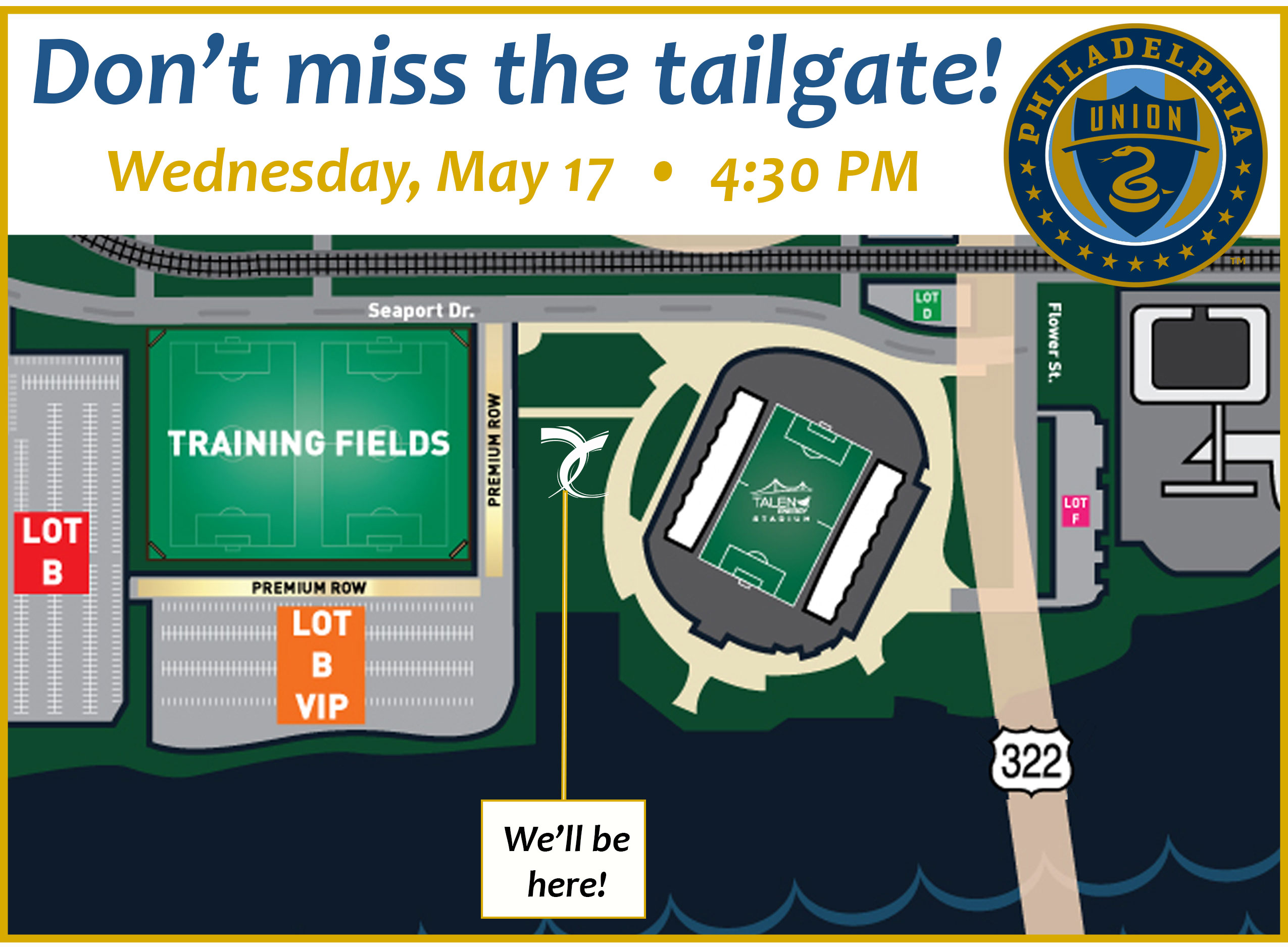 Tailgate May 17th