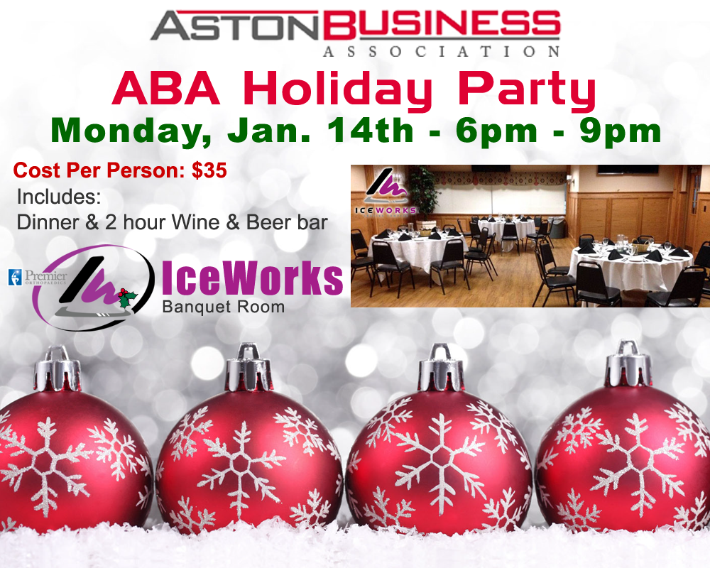 ABA Holiday Party @ IceWorks Banquet Room
